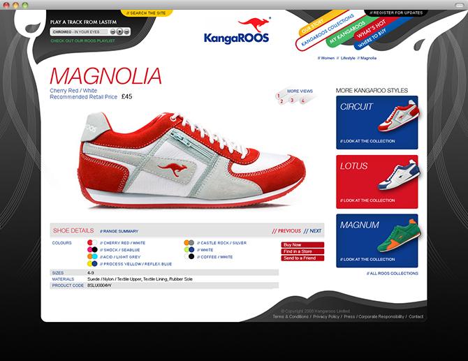 Kangaroos Shoes 2015