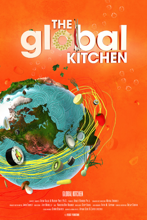 Show Posters - Global Kitchen - Hakan Uzumcu
