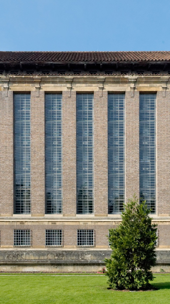 Cambridge University Library By Architect Giles Gilbert Scott